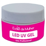 LED UV GEL Transparente para Unhas